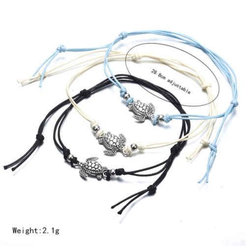 Hot Sea turtle ข้อเท้า Barefoot สร้อยข้อมือ Boho Vintage แฟชั่น Elegant สร้อยข้อเท้าเท้าวันวาเลนไทน์