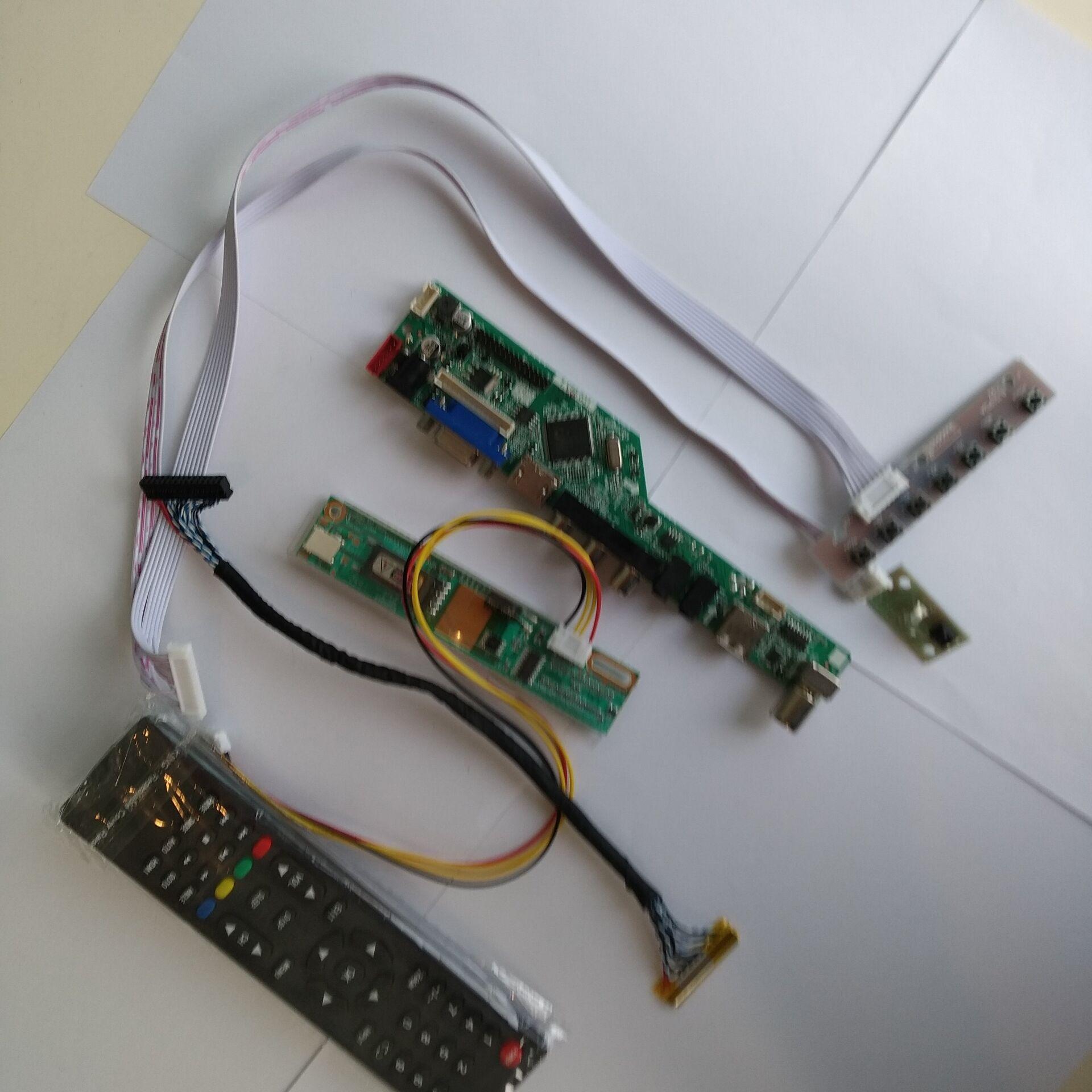 TV USB LED LCD AV VGA HDMI AUDIO Controller Board kit For CLAA154WB05AN 1280*800 15.4 Screen Display MonitorTV USB LED LCD AV VGA HDMI AUDIO Controller Board kit For CLAA154WB05AN 1280*800 15.4 Screen Display Monitor