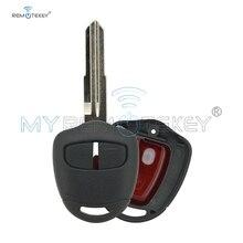 цена на Remtekey 2 button MIT8L 315MHZ 4D61 chip remote key for Mitsubishi outlander Montero Pajero Shogun Triton Lancer Evo CT9A Vll