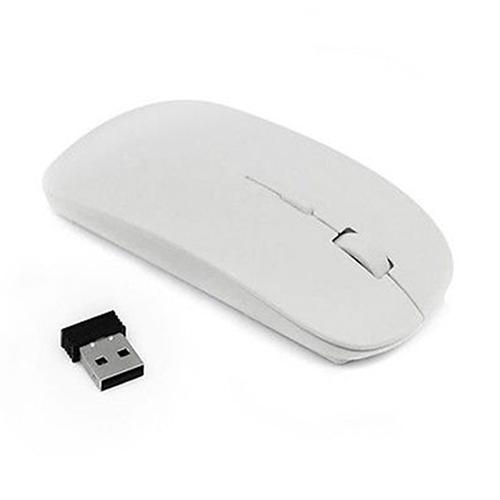 1600 DPI USB Optical Wireless Computer Mouse 2.4G Receiver Super Slim Mouse For Windows Macbook Laptop PC
