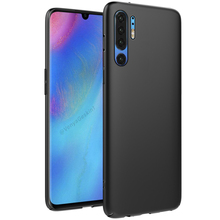 For Huawei P30 Pro Case Soft Silicone Luxury Ultra Thin Matte TPU Phone Protection Cover Shockproof
