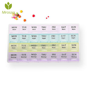 New Monthly 28 Slots Mini Pill