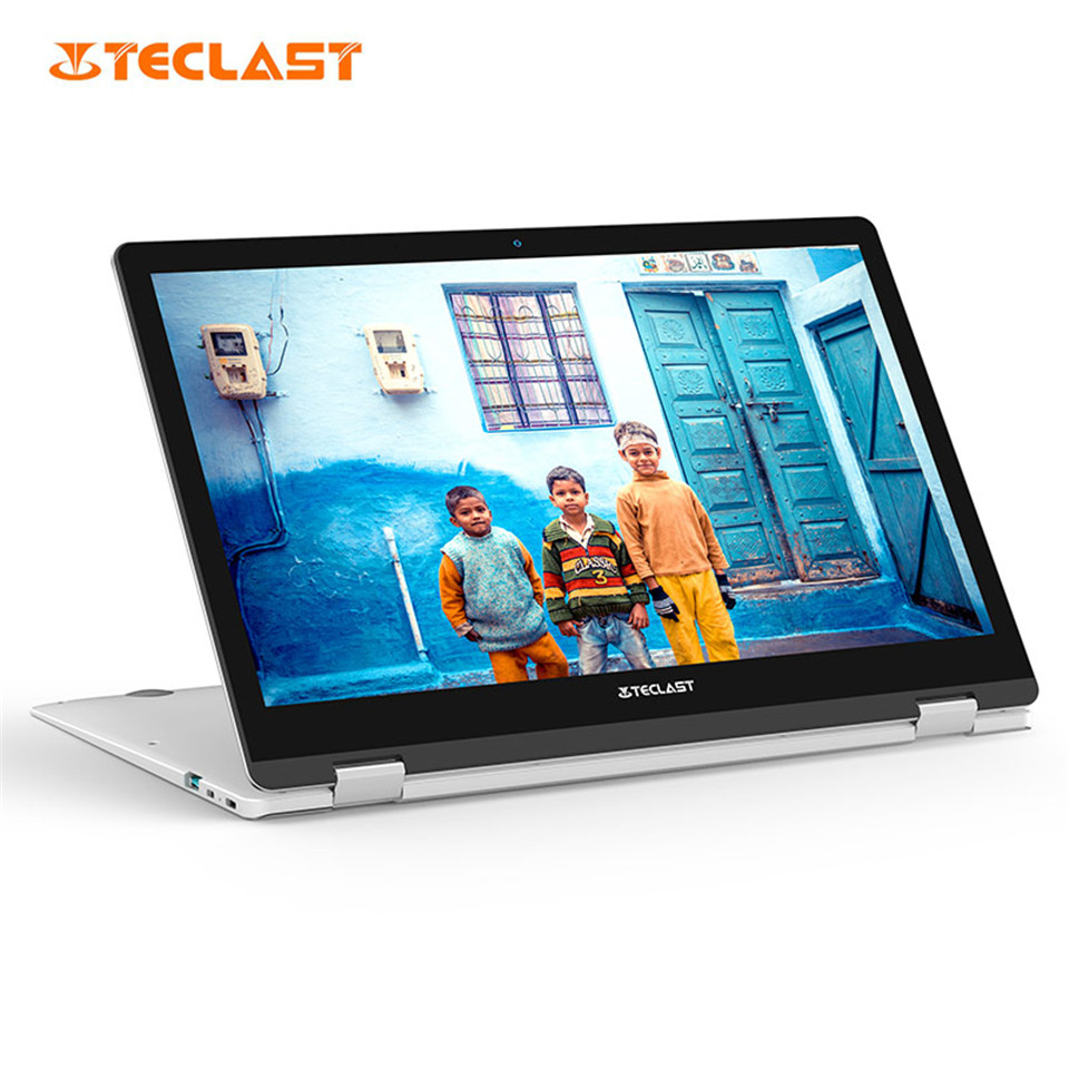 Teclast F6 Pro 8GB/128GB SSD Fingerprint Recognition Notebook 13.3 inch Intel Core m3-7Y30 Silver F6 Pro Gaming Working Laptop