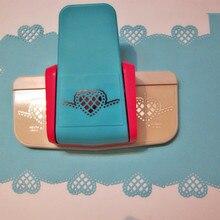 スクラップブック Papel 手作りエッジデバイス DIY 紙カッタークラフトファンシーボーダー単一形穴ハートパンチフラワーデザインエンボス