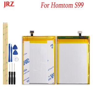 JRZ 6200mAh For Homtom S99 Backup battery For Homtom S99 phone Replacement Batteries Bateria with Tools(China)