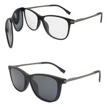 3de5cd41566a Sheralor TR90 flexible metal temple prescription glasses 6209 with megnatic  clip on