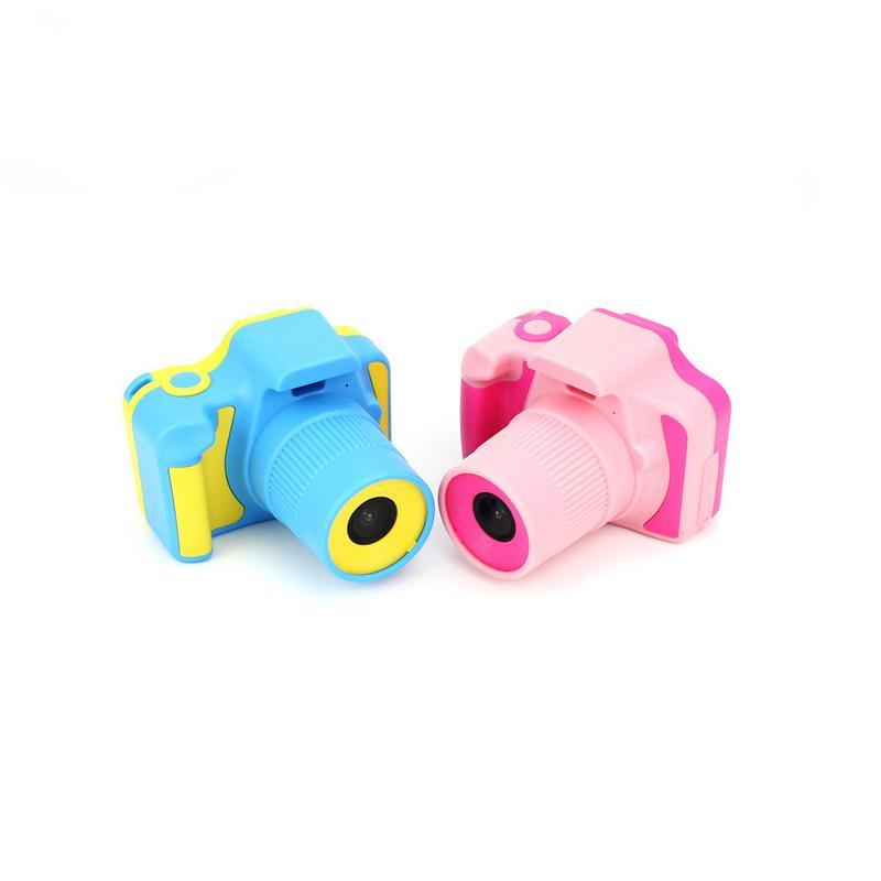 268A caméra de dessin animé mignon jouet résolution 480RGB * 240 caméra enfants Puzzle éducation précoce caméra jouet