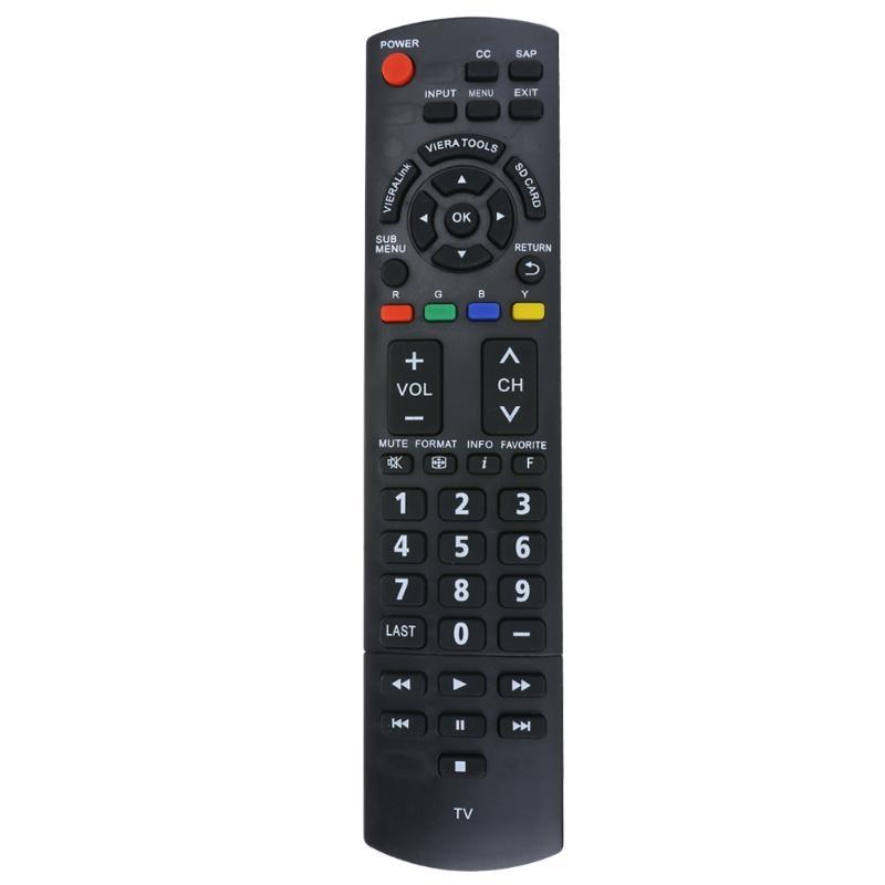 Remote Control for Panasonic N2QAYB000321 2009 LCD and Plasma TV Remote