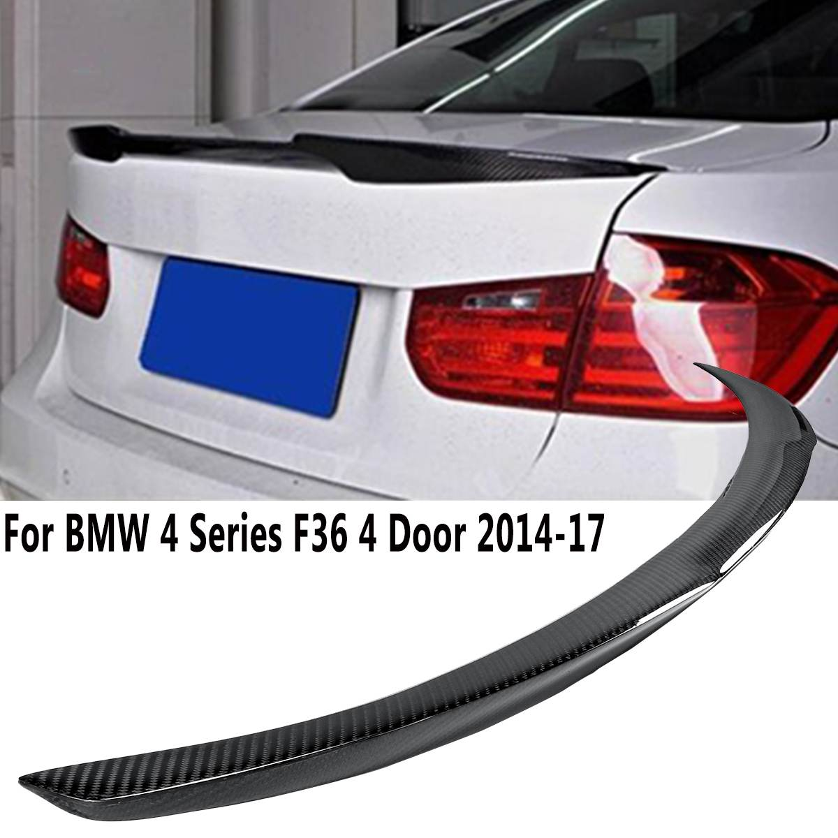 BMW E93 328i 335i M3 Style #300 White Trunk Spoiler Wing For Convertible 07-13