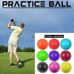 Многоцветной гольф подарок мяч открытый Dolf и конкурс Гольф Практика мяч двухслойный практика мяч сильная эластичность