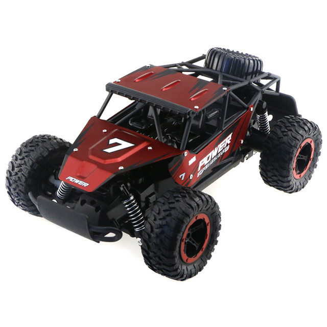 1/14 Scale Four-Wheel Drive High-Speed RC Car Off-Road Rock Crawler Truck RC SUV Climping Car 2.4GHz Wireless Remote Control Toy