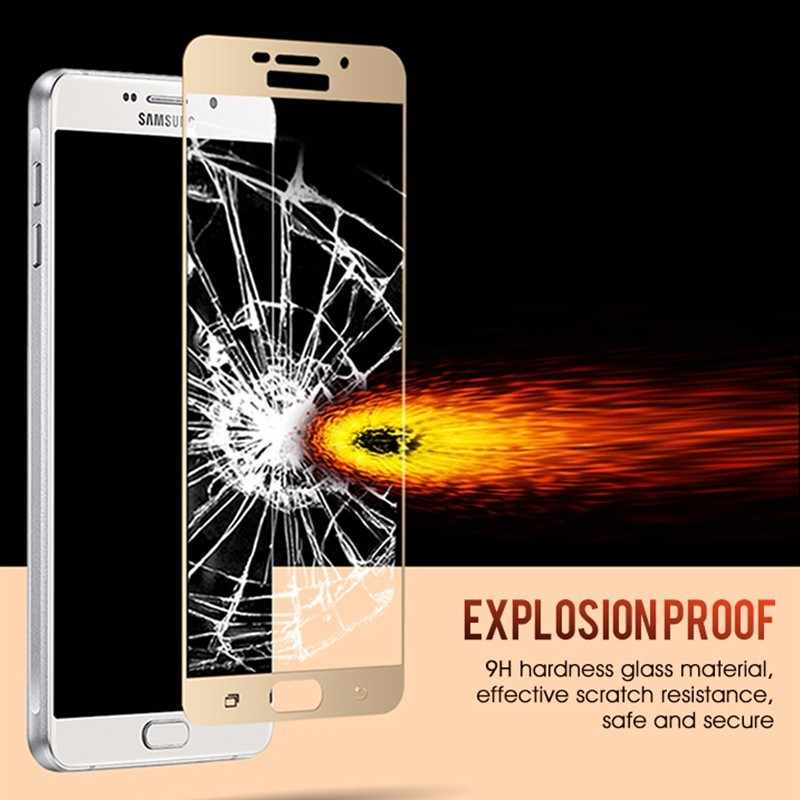 3D полное покрытие из закаленного стекла для samsung Galaxy A8 6 J4 J6 Plus M10 Защитная пленка для экрана samsung J7 Duo Max J3 2018 GlaS