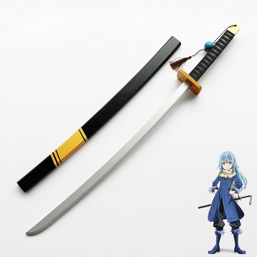Proplica the blue rose sword. That Time I Got Reincarnated As A Slime Rimuru Sword Cosplay Prop Costume Props Aliexpress