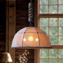 цена на Vintage Pendant Lights Living Room Rustic Stair Light Lamp Shade Fabric Chinese Style Decor Loft Classic Hallway Pendant Lamps