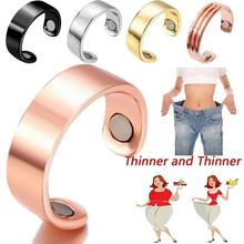28 Days Natural Fat Burning Fashion Micro Magnetic Weight Loss Ring Slimming Finger health acessories