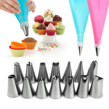 Nozzles for Confectionery Bag Cake Icing Decorating Tools Confectionery Nozzles Cream Nozzles Reusable Pastry Bag