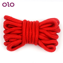 OLO Restraint Slave SM Bondage Rope Roleplay 5 Meters Soft Cotton Rope Sex Toys for Couples Adult Game Flirting