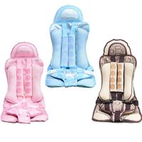 Portable Car Seat For Children Aged 4 8 Adjustable Protection Child Oxford Cloth Massage Waist Safety Seat Supplies Accessories