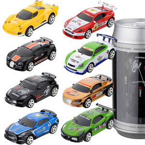 8 Colors Coke Can Mini RC Car