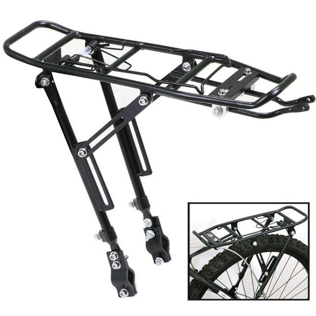Vorcool Rear Bicycle Almost Universal Adjustable Bike Cycling Cargo Luggage Carrier