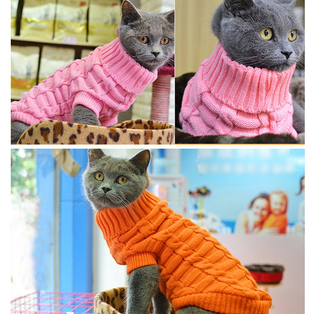 Dog Clothes For Large Small Dogs Cat Clothing For Pet Dog Coat Sweater Dogs Jacket Chihuahua Cotton Pure TShirt Cat Vest Costume 1