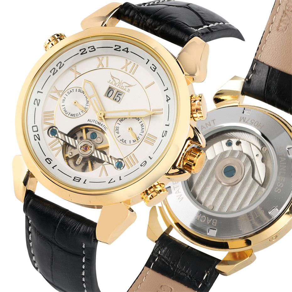 Business Mens Mechanical Watch Luxury Tourbillon Automatic Watch for Men Auto-Date Display Genuine Leather Wrist Watches relojBusiness Mens Mechanical Watch Luxury Tourbillon Automatic Watch for Men Auto-Date Display Genuine Leather Wrist Watches reloj