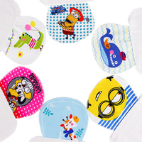 Cartoon Head Portrait Full Cotton Printing Gauze Sweatbands Scapegoat A Piece Of Cloth 4 Layer