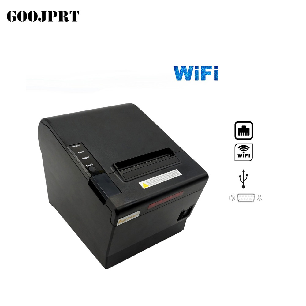 Pos-Printer 80mm High-Quality with USB Serial/lan-Port Serial/lan-Port