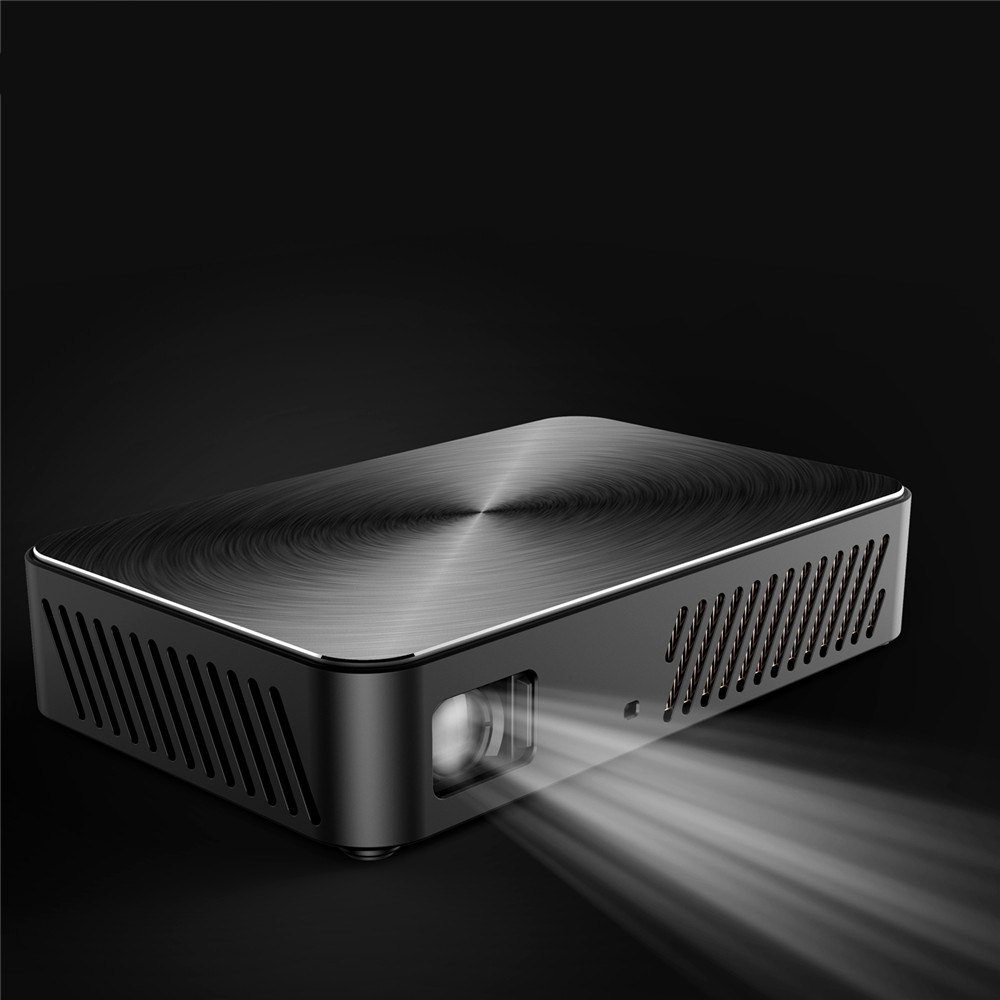 VIVIBRIGHT J10 bluetooth WIFI 1920*1080 projecteur Android 6.01 1G + 8G Beamer Mini DLP microprojecteur haut-parleur intégré pour 280 i - 3