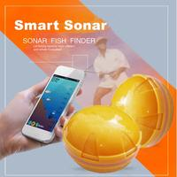 Smart Fish Finder Portable Underwater Mobile Phone Bluetooth Wireless Remote Sonar Sensor Fishing Fish Detector for Sea Lake
