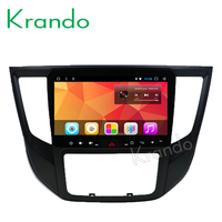Krando Android 8.1 9 IPS Full touch car multimedia player for For Mitsubishi Lancer 2017 GPS navigation system big screen BT