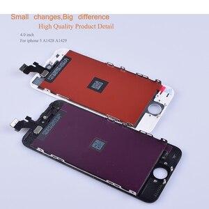 Image 2 - 10 unids/lote para iphone 5 SE 5C 5S reemplazo del digitalizador de pantalla táctil para iphone 5 S monitor LCD SE completa
