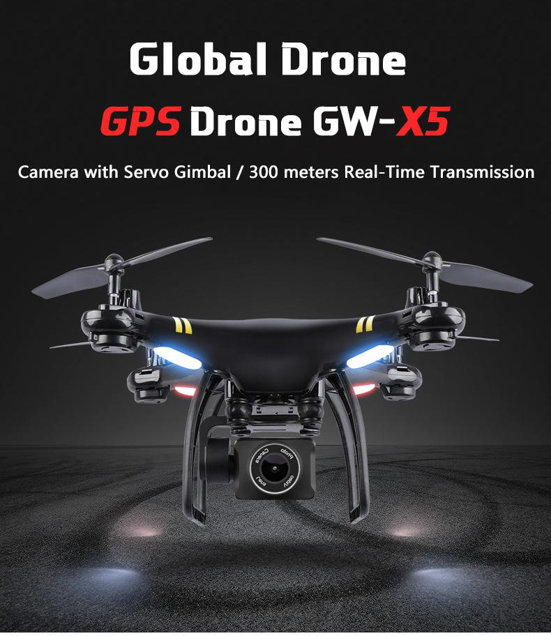 Oyuncaklar ve Hobi Ürünleri'ten RC Helikopterler'de LeadingStar GW83 GPS 5G WIFI 1080 P Drone Profesyonel GPS Drones HD Kamera ile RC Wifi FPV Gerçek Zamanlı quadcopter'da  Grup 1