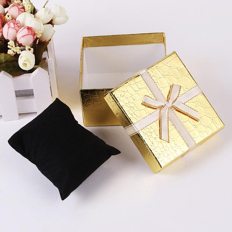 1PC Hot Sale Alligator Pattern Gift Box Innovative Bowknot Earrings Ring Jewelry Box Ring Watch Box Gift Accessories Wholesale