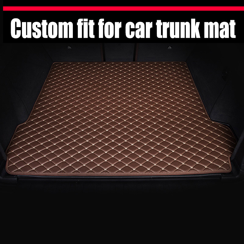 ZHAOYANHUA Custom Fit Car Trunk Mats For DodgeRAM 1500 2500 3500 Avenger Caliber JourneyAvengerCaliberJ Car Styling Liner
