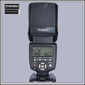 Image 3 - Yongnuo YN560 IV YN560IV Flash Speedlite for Canon Nikon Pentax Olympus DSLR Cameras + Gift Kit