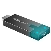Mirascreen D4 Wifi 2.4G/5G Display Tv Dongle 1080P Miracast Airplay Dlna Mirroring To Hdtv For Phone Ios Android