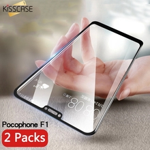 KISSCASE 5D 9H Tempered Glass For Xiaomi Pocophone F1 Mi A1 A2 Max 3 Protective Redmi 4x 5 5a Note 6 Pro