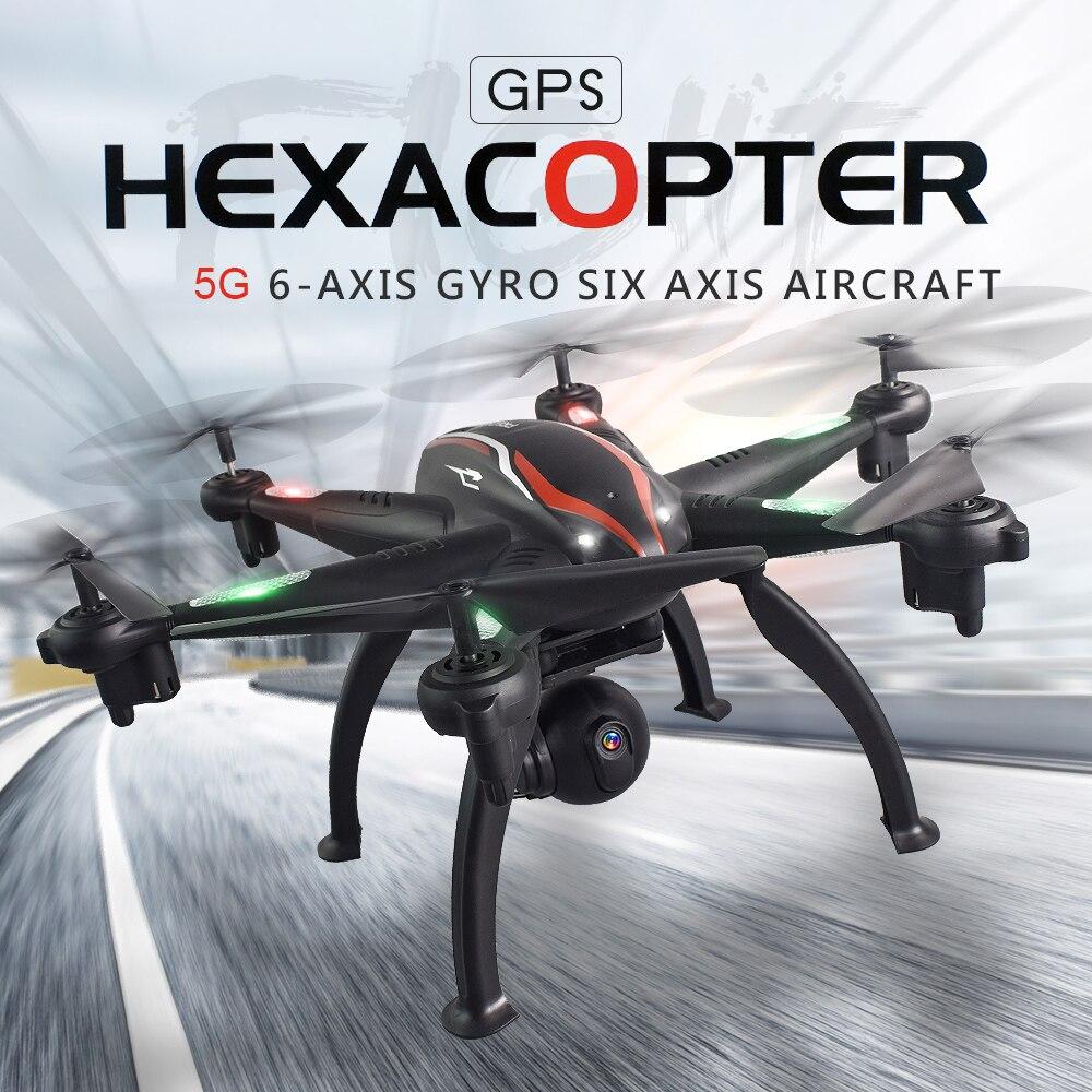 L100 RC Drone 2 4G 720P 1080P Wide Angle WiFi FPV Camera 6 axis GPS Dron