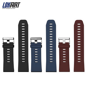 Универсальный оригинальный трехцветный спортивный ремешок для часов LOKMAT