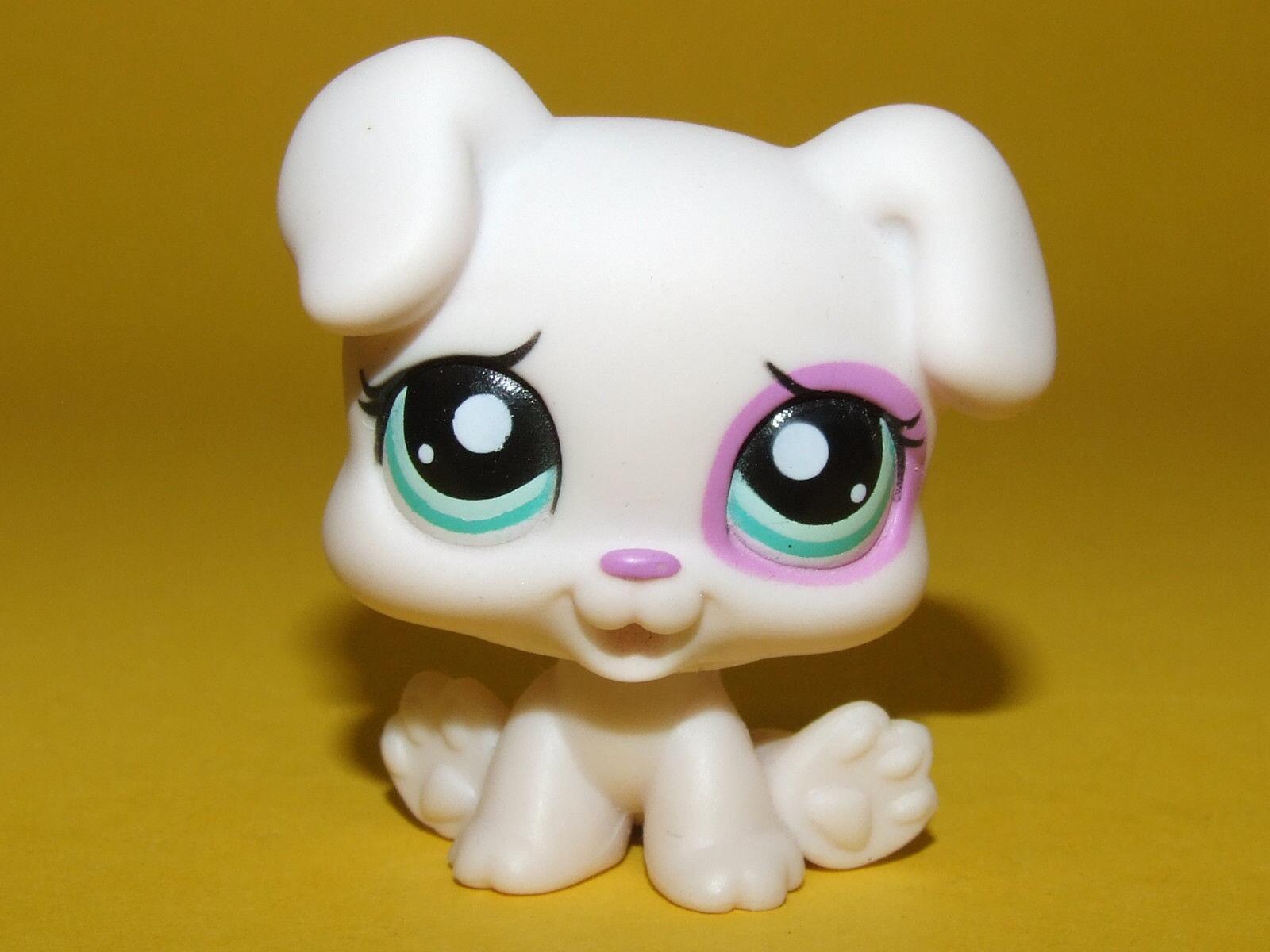 font b pet b font shop lps toys White Pink Baby Boxer Puppy Dog 1534