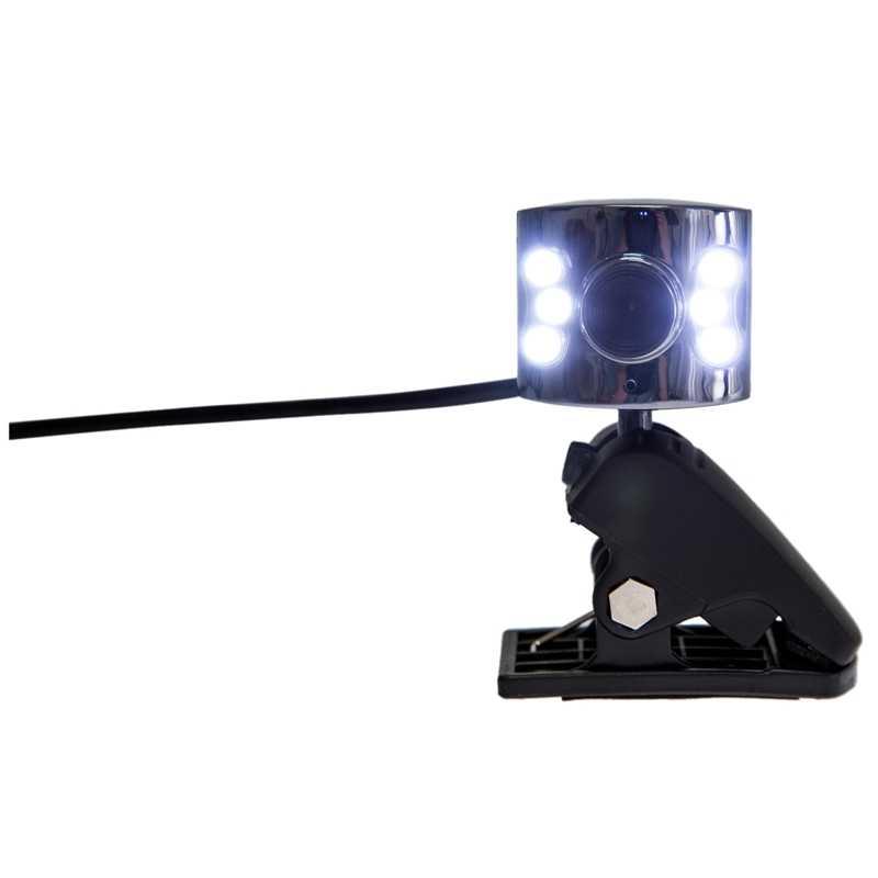 AAAJ-20.0 M пикселей USB 6 светодиодный вебкамера с микрофоном ПК камера для ноутбука