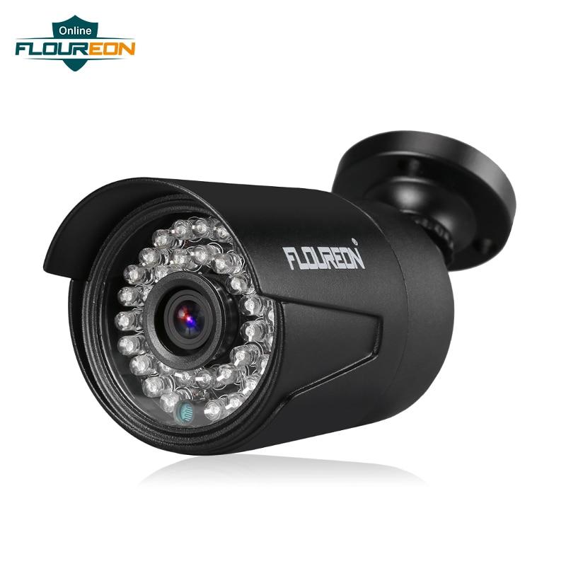 1 Pièces 1080 P 2.0mp 3000tvl Ahd Cctv Caméra De Sécurité 3.6mm Lentille 36 Ir Led Vision Nocturne Extérieure étanche Caméra De Surveillance