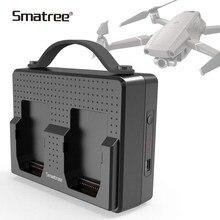 Batteries portables Smatree pour Station de recharge DJI Mavic 2 Pro Charge Compatible deux Batteries Zoom Mavic 2 simultanées