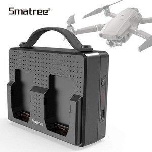Image 1 - Smatree, baterías portátiles para DJI Mavic 2 Pro, estación de carga Compatible con carga simultánea de dos Mavic 2 Zoom