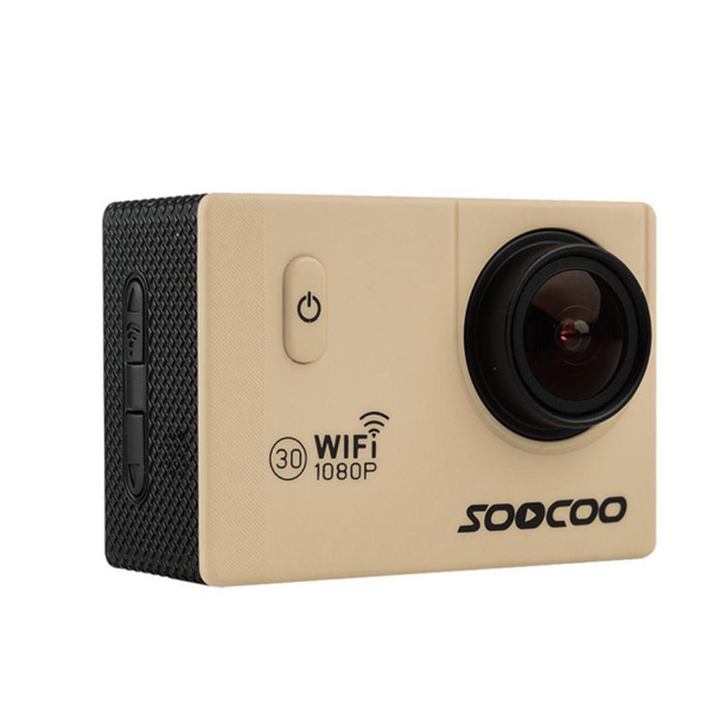 Caméra extérieure WIFI 1080 P Full HD Action Sport 30 m (boîtier étanche) DV étanche 170 large Angle 12 M/8 M/5 M/2 M