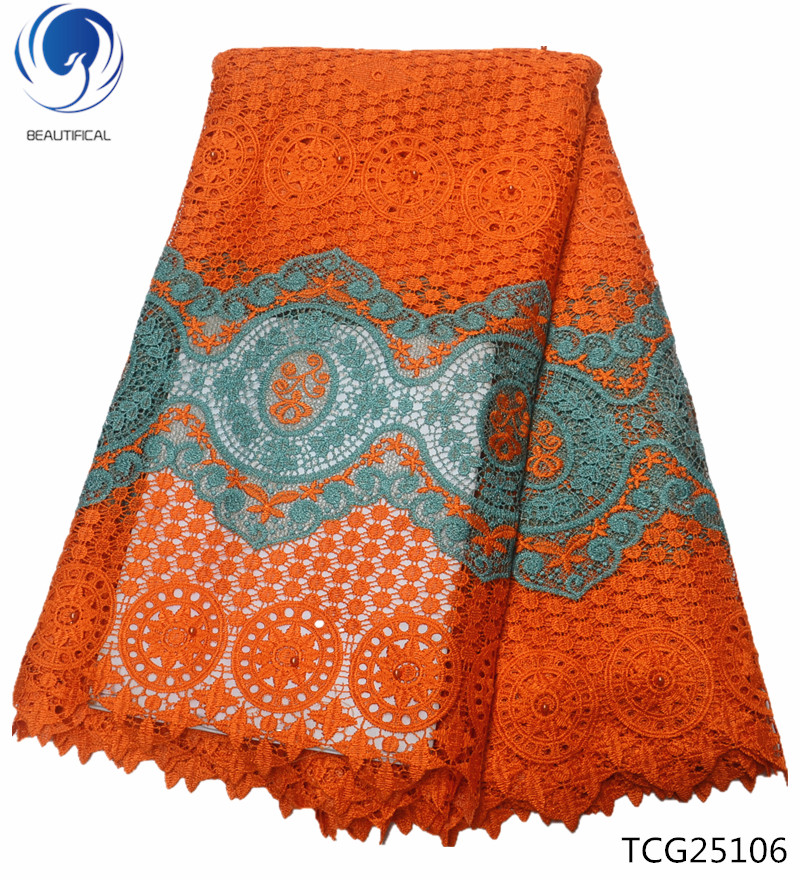 BEAUTIFICAL lace fabric beaded orange guipure cord lace guipure lace embroidered fabric 5 yards/piece flowers picture TCG251BEAUTIFICAL lace fabric beaded orange guipure cord lace guipure lace embroidered fabric 5 yards/piece flowers picture TCG251