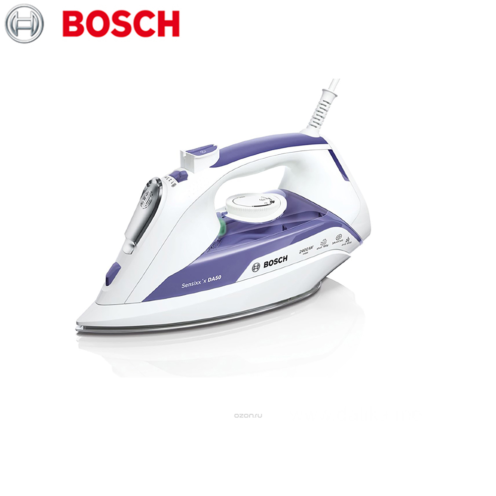 Electric Irons Bosch TDA5024010 household appliances laundry steam iron ironing clothes lacywear dg 49 shi