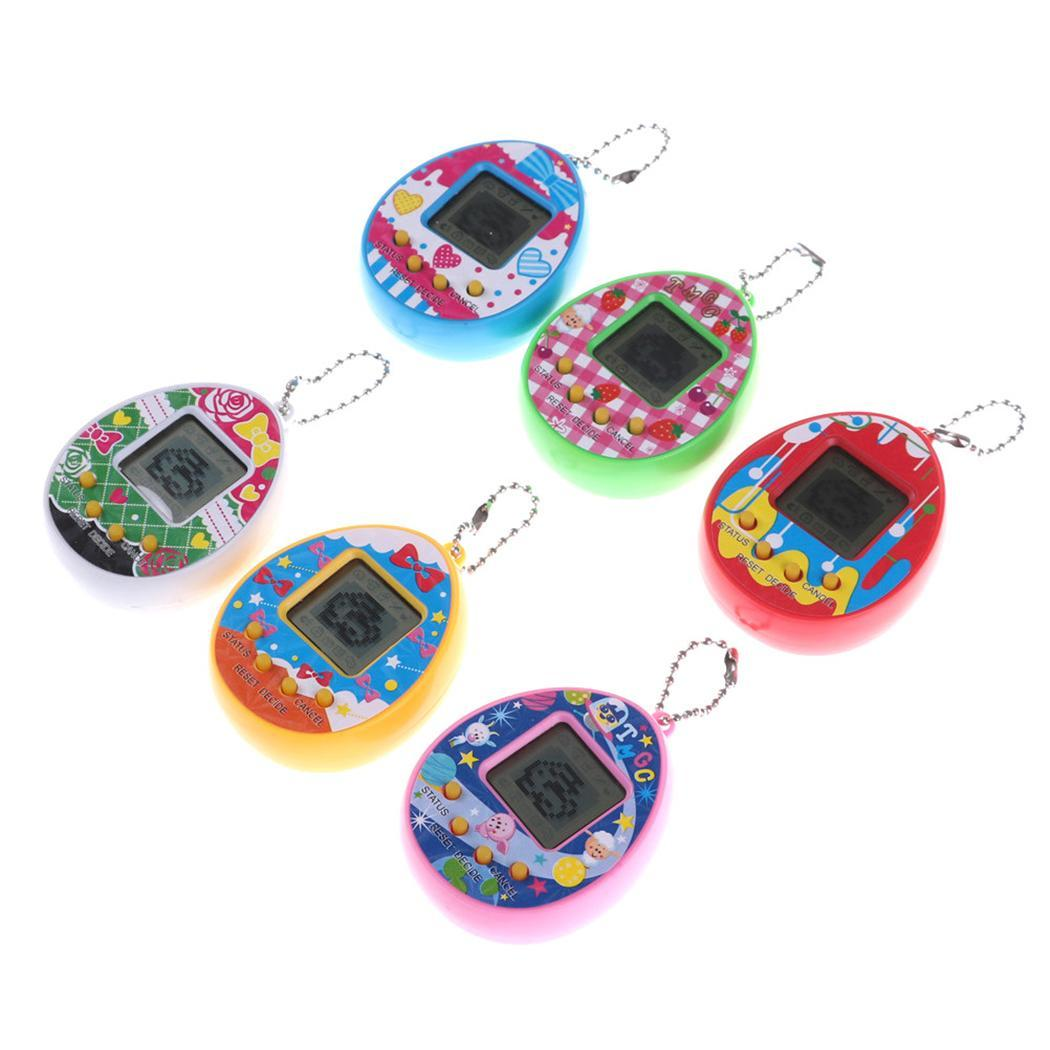 Funny Electronic Tamagotchi Toys Kids Virtual Pet Game Machine Toy Multicolor 3 Years Unisex 2 x 1.5V Button Batteries Included