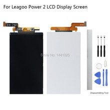 Display Screen Replace for Leagoo Power 2 LCD screen 5.0 inch black for Leagoo Power 2 screen LCD New Tested Assembly цена и фото